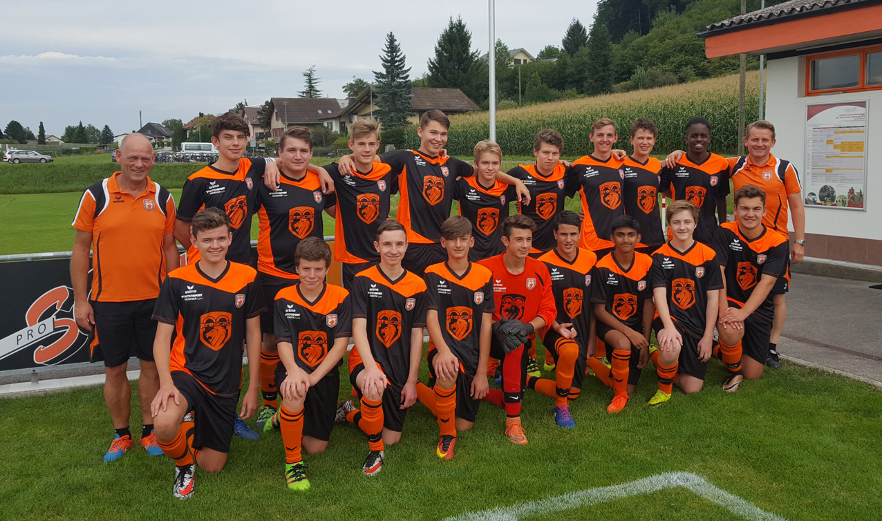 Junioren B, Saison 2017/2018